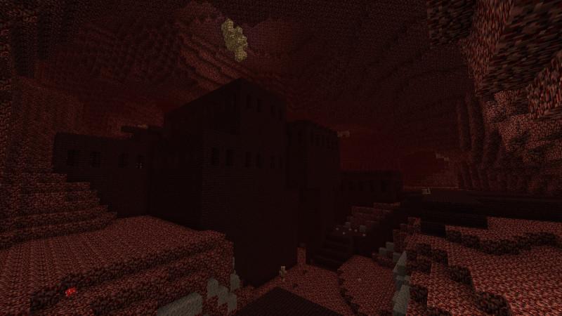 Ад в Minecraft - адская крепость