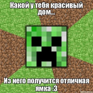 Крипер в Minecraft