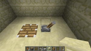 Как сделать стол в Minecraft - стол из поршня или липкого поршня