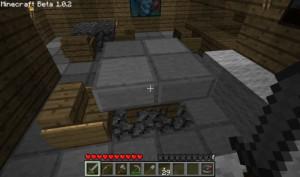 Как сделать стол в Minecraft - стол из забора и плиты