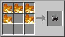 Кольчуга в Minecraft - рецепт крафта шлема