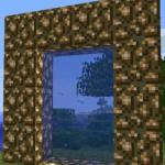 Minecraft сделать портал в Рай