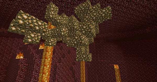 Minecraft сделать портал в Рай - блоки светящегося камня в Аду