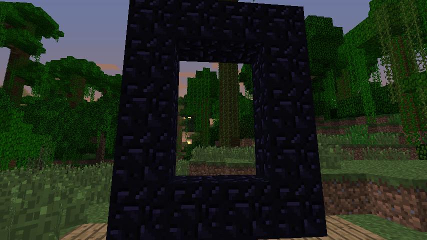 Портал в Ад Minecraft - структура портала