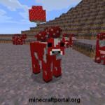 Грибная корова в Minecraft