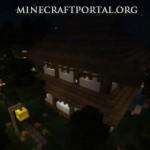 Японский дом в Minecraft