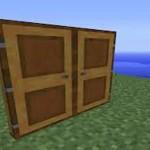 Деревянная дверь в Minecraft