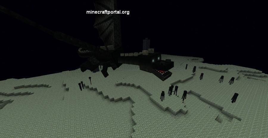 Дракон в Minecraft