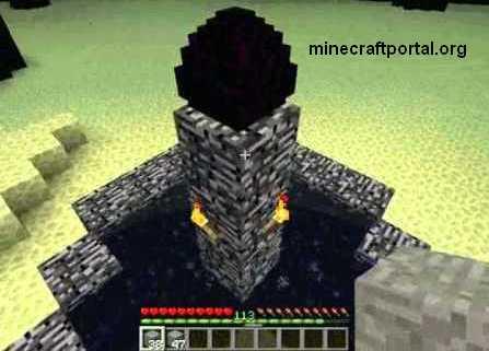 Дракон в Minecraft - Яйцо Дракона