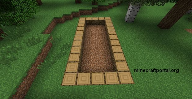 Ферма тростника в Minecraft - шаг второй