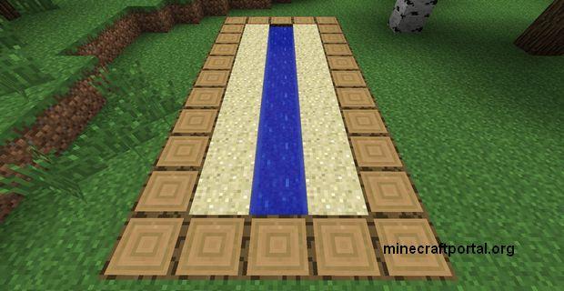 Ферма тростника в Minecraft - шаг третий