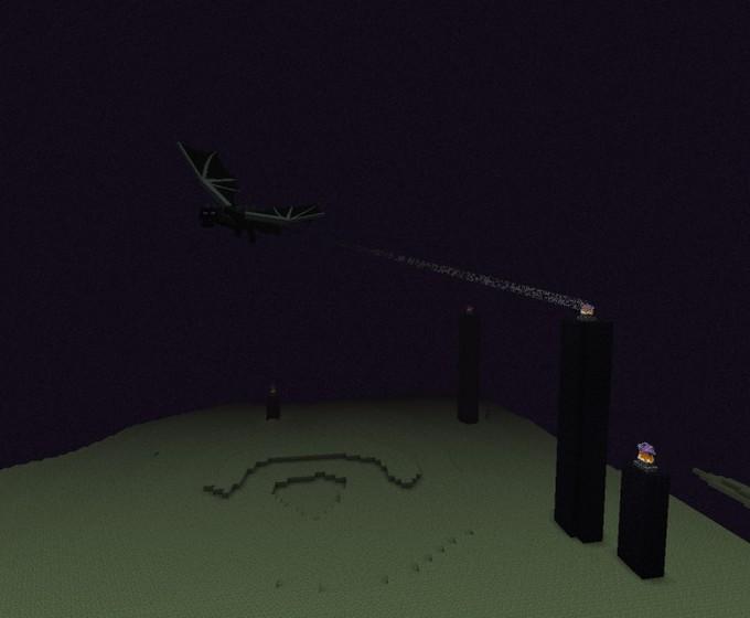 Minecraft край - Дракон Края