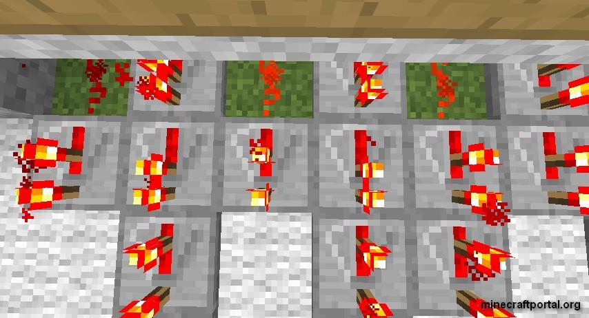 технология кодового замка в Minecraft