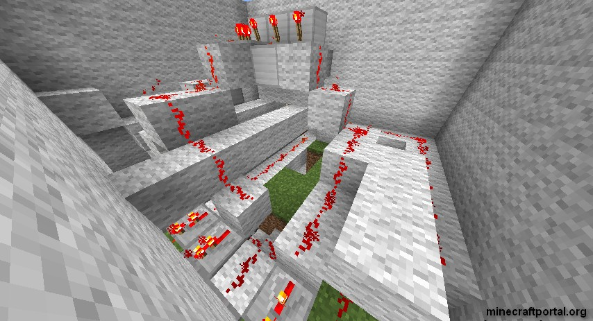 Кодовые замки в Minecraft