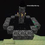 Яйцо Дракона в Minecraft
