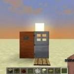 Железная дверь в Minecraft