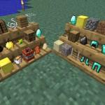 Скачать мод «Полки» для Minecraft 1.5.0 — Shelf