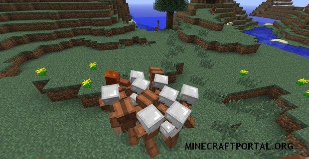 """Скачать мод """"Суровые Жители Челябинска"""" для Minecraft 1.5.0 - Defensive Villagers"""
