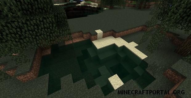 """Скачать мод """"Реалистичная вода"""" для Minecraft 1.5.0 - Realistic Water Mod"""