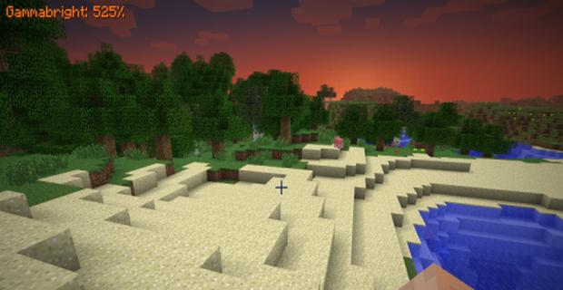 """Скачать мод """"Гаммабрайт"""" для Minecraft 1.5.1 - Gammabright"""