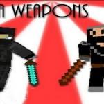 Скачать мод «Оружие ниндзя» для Minecraft 1.5.1 — Ninja Weapons