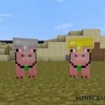 Скачать мод «Свинка компаньйон» для Minecraft 1.5.1 — Pig Companion Mod