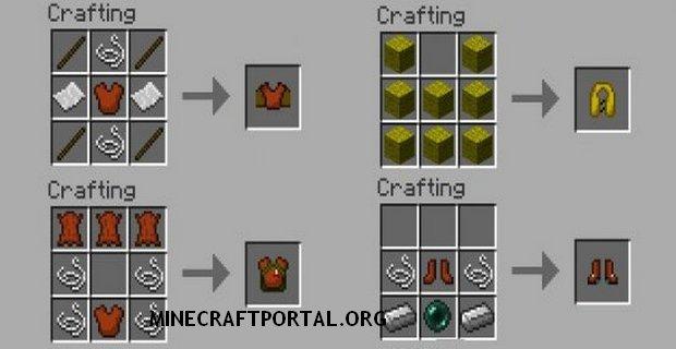 """Скачать мод """"Скоростная броня"""" для Minecraft 1.5.2 - Armor Movement"""