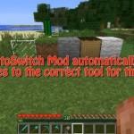 Скачать мод «Авто смена инструментов» для Minecraft 1.5.1 — AutoSwitch
