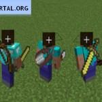 Скачать мод «Инструменты за спиной» для Minecraft 1.5.0 — Back Tools