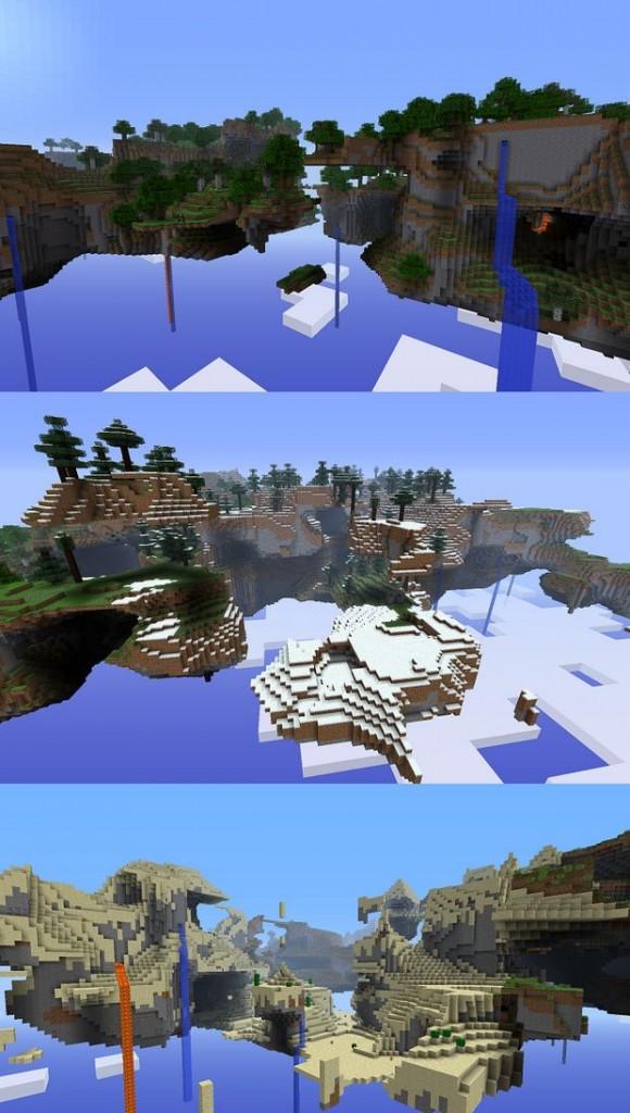 """Скачать мод """"Улучшенная генерация мира"""" для Minecraft 1.5.1 - Better World Generation 4"""