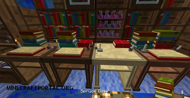 """Скачать мод """"Супер библиотеки"""" для Minecraft 1.5.0 - BiblioCraft"""