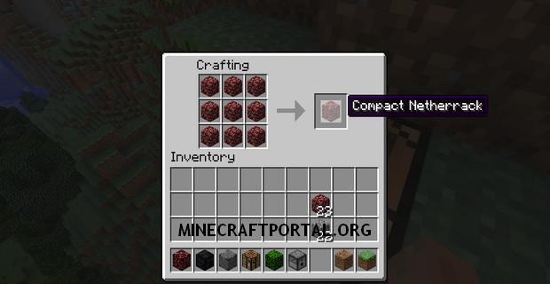 """Скачать мод """"Компактный крафт"""" для Minecraft 1.5.1 - Compact Crafting"""