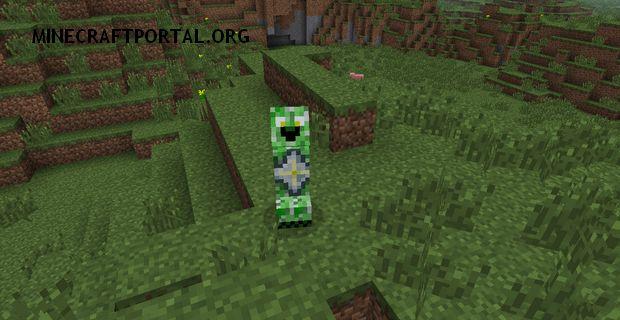 """Скачать мод """"Разновидности криперов"""" для Minecraft 1.5.1 - CreeperSpecies"""