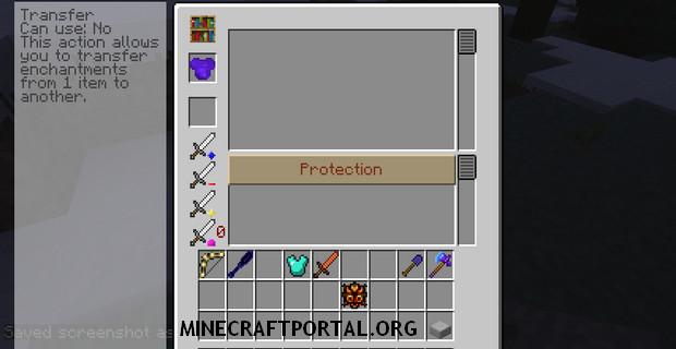 """Скачать мод """"Улучшенное зачарование"""" для Minecraft 1.5.1 - Enchanting Plus"""