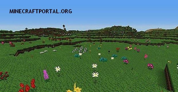 """Скачать мод """"Цветокрафт"""" для Minecraft 1.5.2 - Flowercraft"""