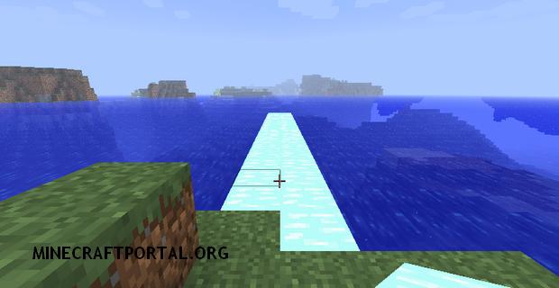 """Скачать мод """"Блоки льда"""" для Minecraft 1.5.0 - Glacier Ice"""