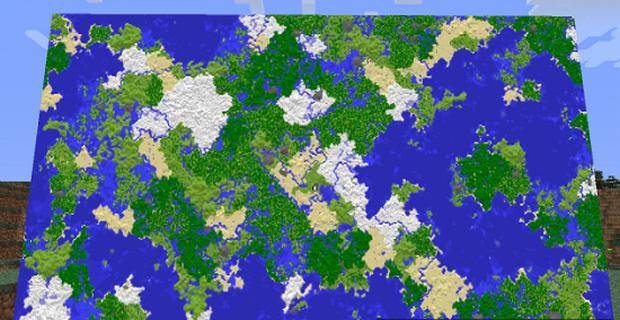 """Скачать мод """"Большие карты"""" для Minecraft 1.5.0 - Hangable Maps"""