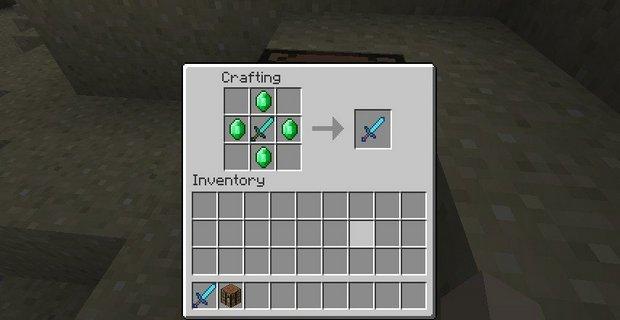 """Скачать мод """"Легендарный меч"""" для Minecraft 1.5.1 - Legendary Sword"""