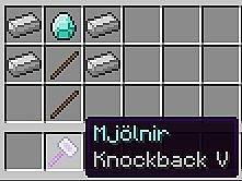 """Скачать мод """"Мйолнир, молот Тора"""" для Minecraft 1.5.1 - Mjolnir"""