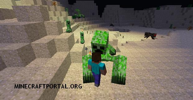 "Скачать мод ""Мобы Мутанты"" для Minecraft 1.5.1 - Mutant Creatures (6)"
