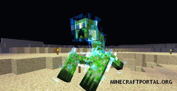 "Скачать мод ""Мобы Мутанты"" для Minecraft 1.5.1 - Mutant Creatures (9)"