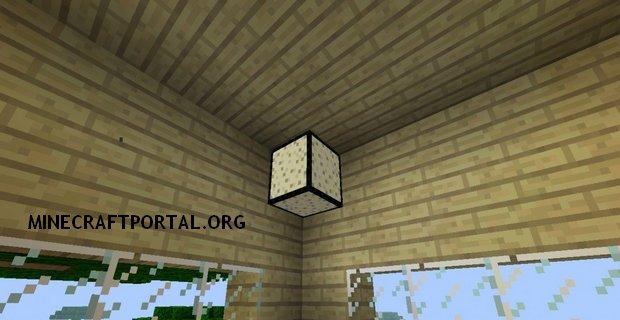 """Скачать мод """"Песочные лампы"""" для Minecraft 1.5.0 - SandLamp"""