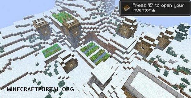 """Скачать мод """"Улучшенные деревни"""" для Minecraft 1.5.1 - Village Change"""