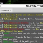 Скачать мод «Веб чат» для Minecraft 1.5.2 — Web Chat