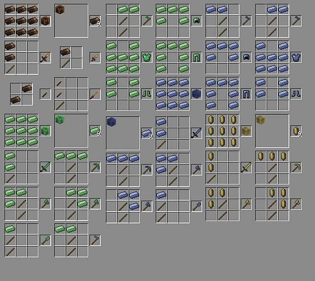 """Скачать мод """"Новые руды"""" для Minecraft 1.5.1 - What Craft"""