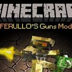 Скачать мод на огнестрельное оружие для Minecraft 1.5/1.4.7 — Ferullo's Guns Mod