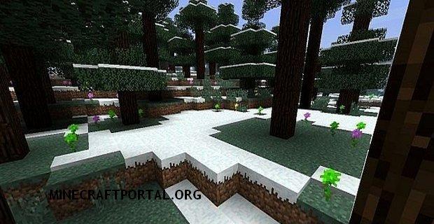"""Скачать мод """"Mo Flowers"""" для Minecraft 1.5.1 - Цветы"""
