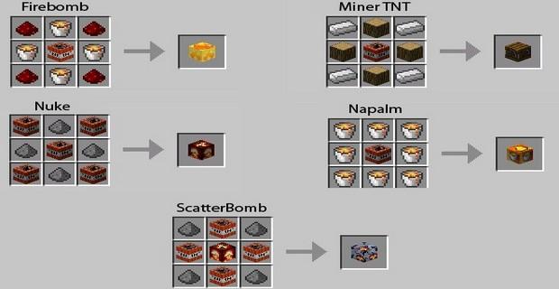 """Скачать мод """"TNT Mod"""" для Minecraft 1.4.7 - Динамит"""