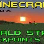 Скачать мод «Чекпоинты» для Minecraft 1.5.1 — World State Checkpoints