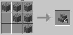 """Скачать мод """"Stair craft mod"""" для Minecraft 1.5.2 - Лестничный крафт"""